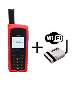 Iridium 9555 WIFI Package - Satellite Phone with RedPort Optimizer