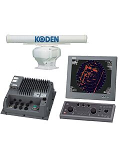Koden MDC-5004-3 4kW Black Box Radar w/ 3.5 ft antenna