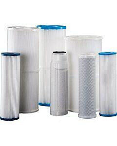 Blue Water C101214 Desalination Dual 50 Micron Filter Element