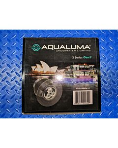 Aqualuma AQLWW3 3 Series Gen II LED with Wide Lens - White