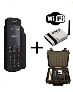 Inmarsat IsatPhone 2 WIFI-to-Go Package - Satellite Phone, Solar and Data