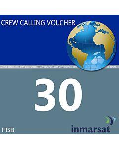 Inmarsat Fleet Broadband Crew Calling Voucher - 25 Minutes