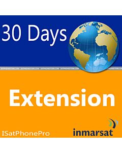 Inmarsat IsatPhone 30 Day Extension for Prepaid Minutes