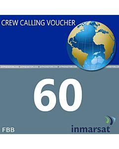 Inmarsat Fleet Broadband Crew Calling Voucher - 60 Minutes