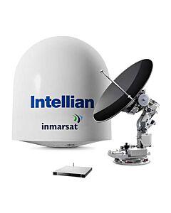 Intellian v100 VSAT Antenna System - NJRC 8W Extended BUC - V3-11B-PJW