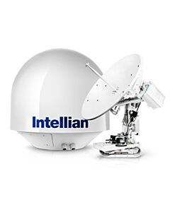 Intellian v80G Ku-band 3-axis w 83cm Dish, X-pol and Co-pol w/o BUC & LNB