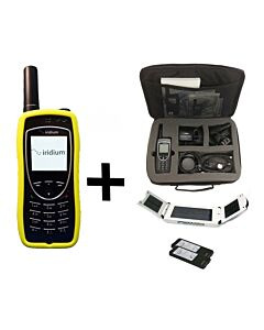 Iridium 9575 Extreme Satellite Phone - Traveler Package w/ Solar Panel & Travel Bag