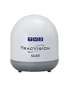 KVH TracVision TV3 Empty Dome/Baseplate; Complete Assembly