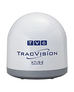 KVH TracVision TV6 Empty Dome/Baseplate; Complete Assembly
