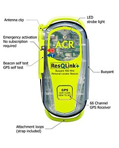 ACR ResQLink + PLB