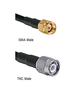 RF Cable Assembly for Outdoor GPS or Iridium Antenna, RF-CABLE-20FT, 20FT