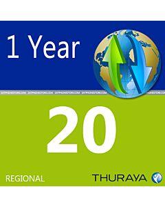 Thuraya 20 Unit Scratch Code