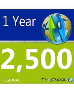 Thuraya 2,500 Unit Scratch Code