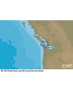 Simrad NA-Y955: Puget Sound Juan De Fuca San Juan Island MAX-N+: Local