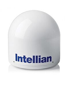 Intellian s80HD/t80W Empty Dome & Baseplate Assembly