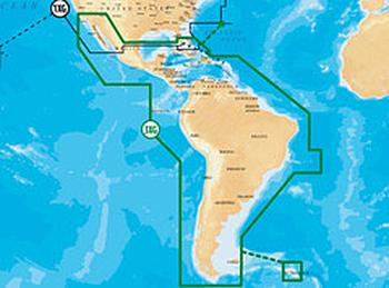 Simrad Navionics Gold XL9 3XG- Caribbean, Central & South America